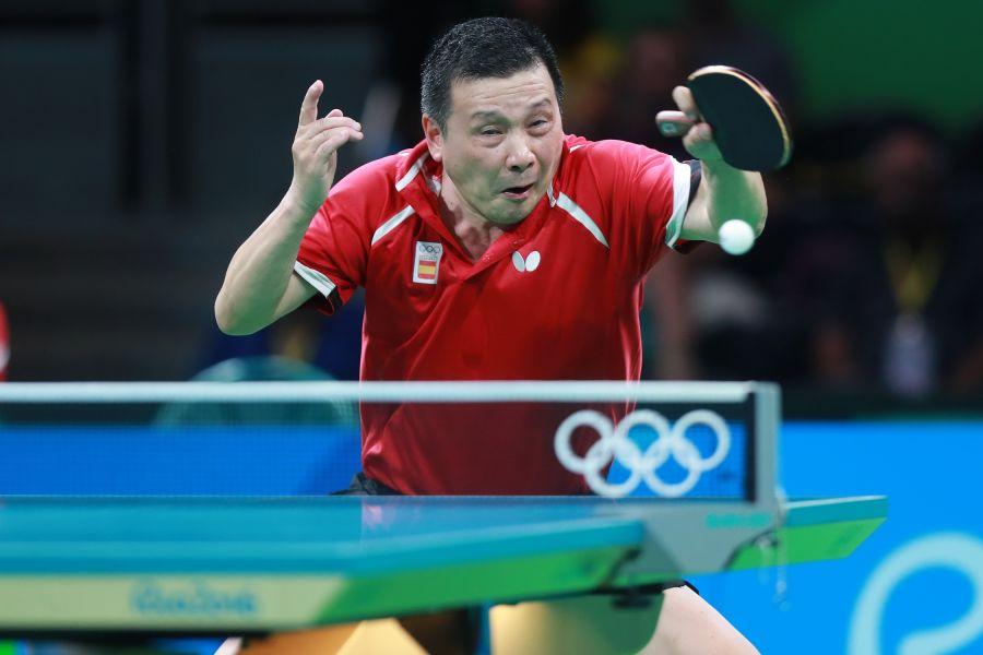 He Zhiwen Juanito en los Juegos de Río 2016. (Foto: ittfworld)