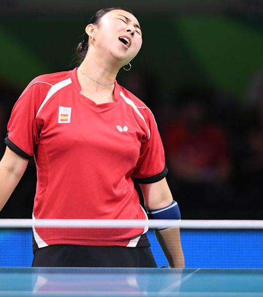 Yanfei Shen en los Juegos de Río 2016. (Foto: ittfworld)