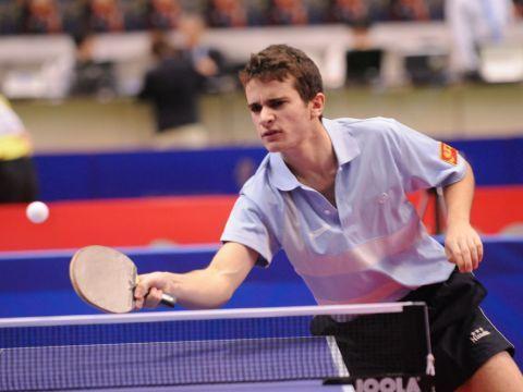 Ferran Brugada en la cita de Tokio Fotografía: Table Tennis Report