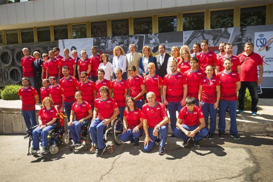Acto de despedida oficial del Comité Paralímpico Español para los Juegos de Rio 2016.