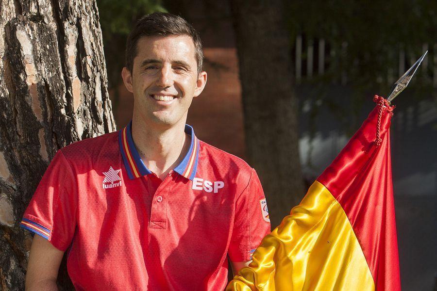 José Manuel Ruiz fue el abanderado del equipo español.