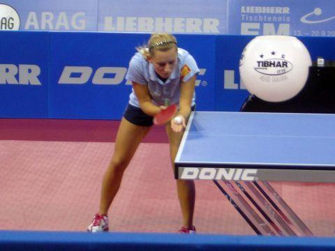 Galia Dvorak, jugadora de la selección española femenina Fotografía: Moncho Ortega