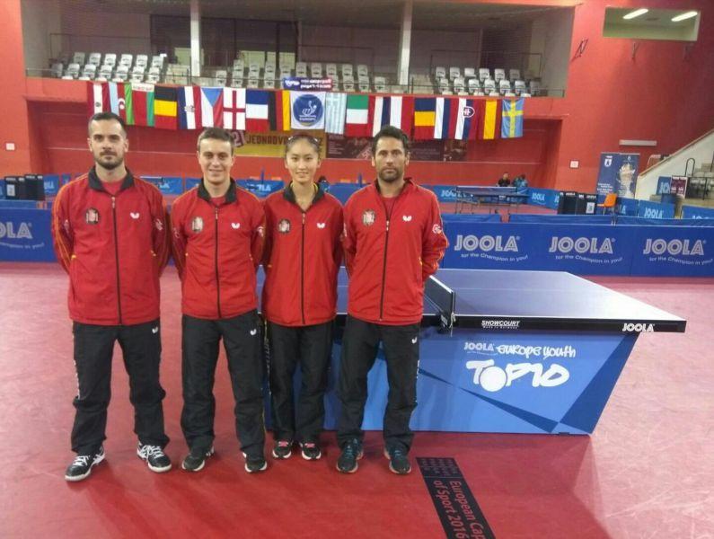 David Soler, Carlos Vedriel, Sofía-Xuan Zhang y Daniel Torres.