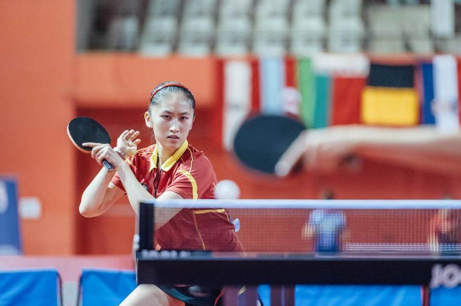 Sofía-Xuan Zhang en el Top-10. (Foto: Facebook ETTU)