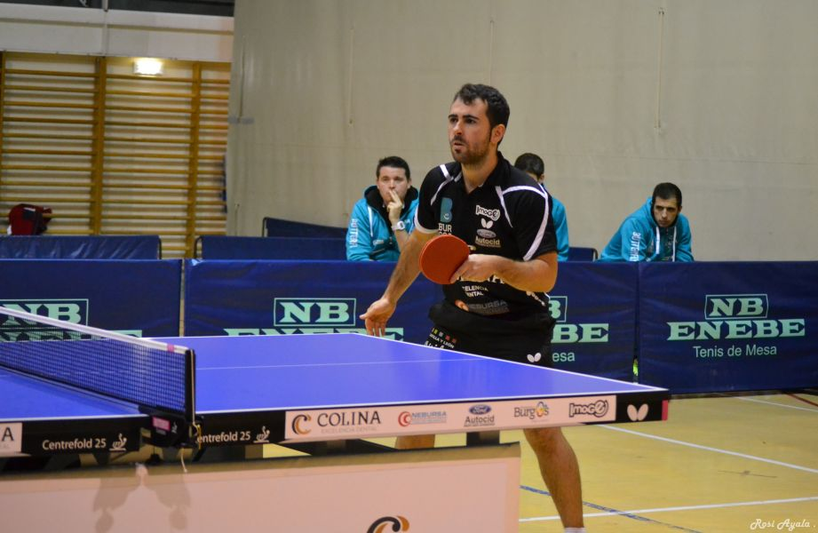 Jorge Ausín, jugador del Colina Clinic Burgos. (Foto: Rosi Ayala)
