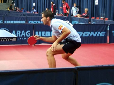 Jesús Cantero, jugador de la selección española