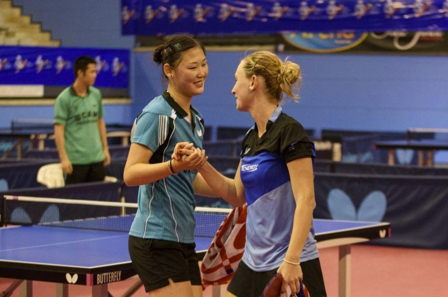 María Xiao y Galia Dvorak. (Foto: Álvaro Díaz)