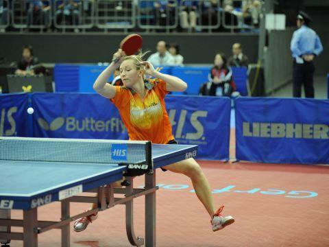 Galia Dvorak, palista de la selección española