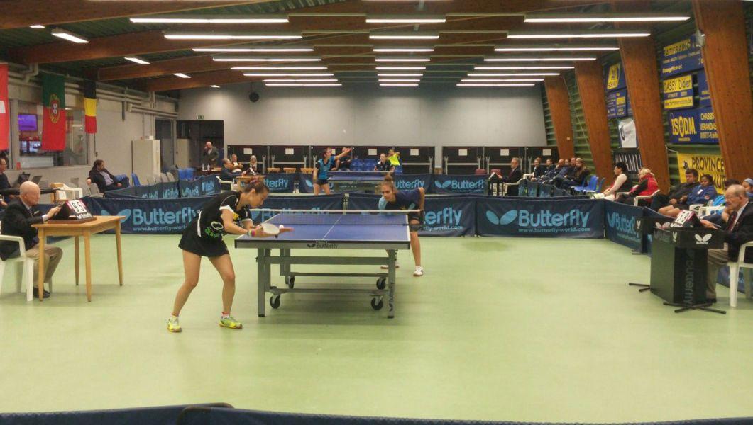 El Balaguer Villart Logistic en la primera ronda disputada en Bélgica.