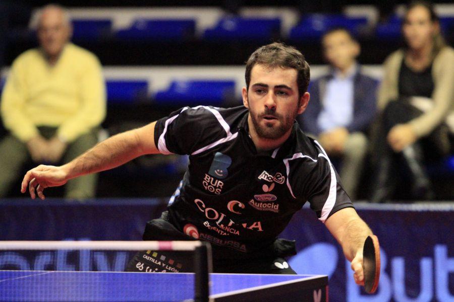 Jorge Ausín, jugador del Colina Clinic Burgos.