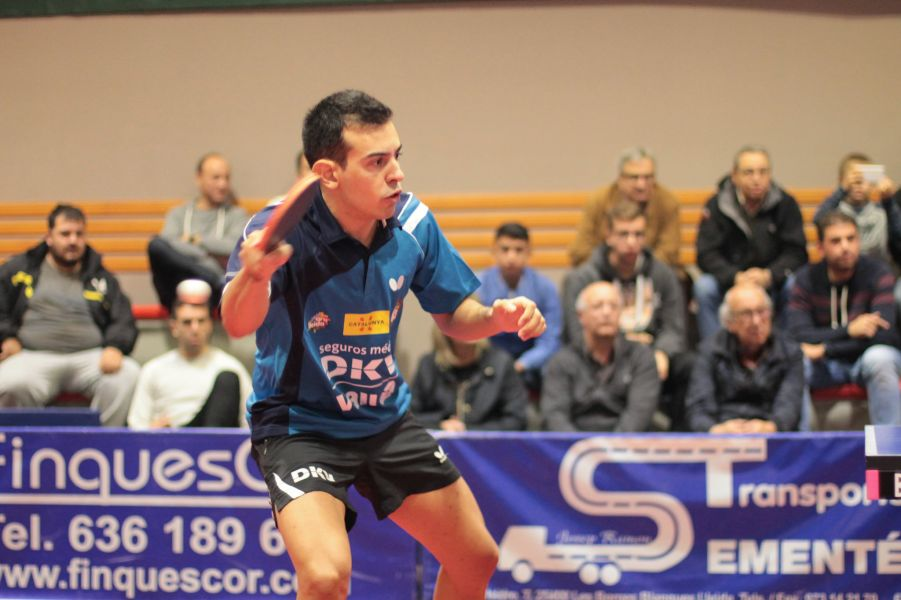 Marc Durán, jugador del DKV Borges Vall.