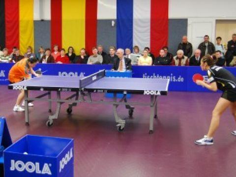 Imágen del partido celebrado hoy en Alemania