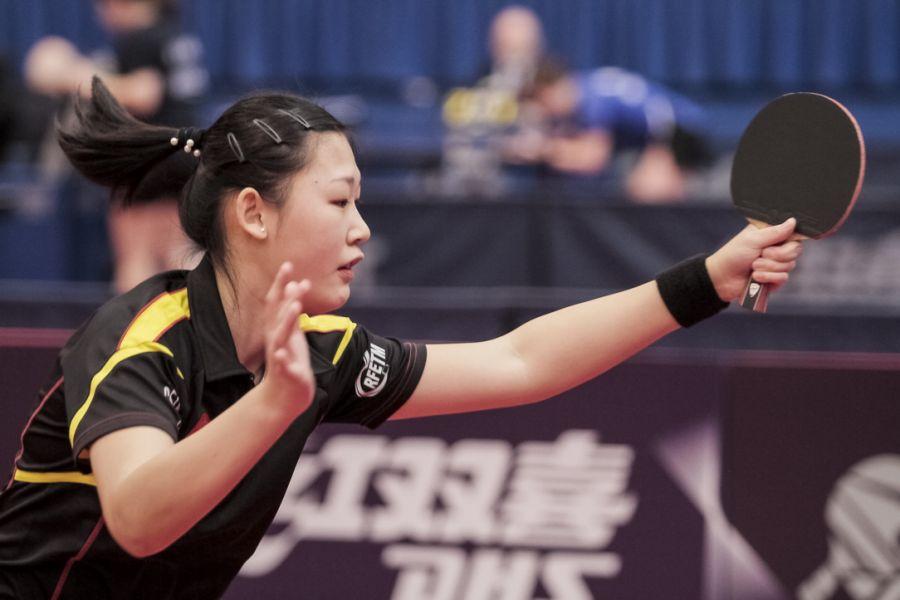 María Xiao en el World Tour de Hungría. (Foto: ittfworld)