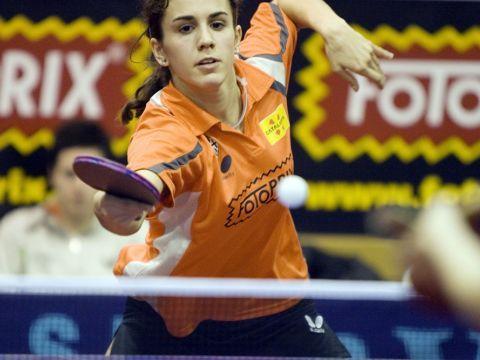 Sara Ramírez, jugadora de la selección española Fotografía: David Fajula