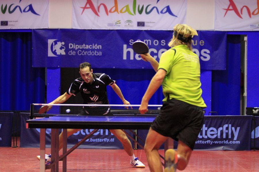 Momento del partido entre Priego y Sanse. (Foto: Priego TM)