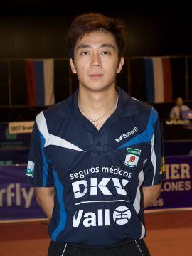 Hu Bin, jugador del DKV Borges Vall Fotografía: Antoni Boldú