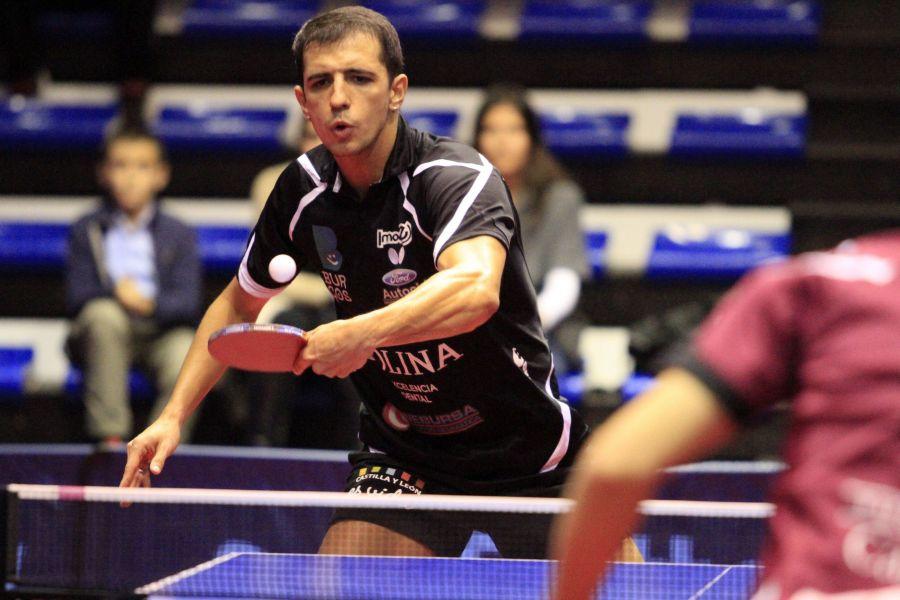 Diogo Dos Santos, jugador del Colina Clinic Burgos. (Foto: Antonio García)