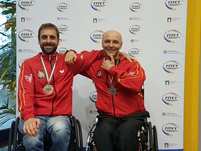 Iker Sastre y Miguel Ángel Toledo en Italia.