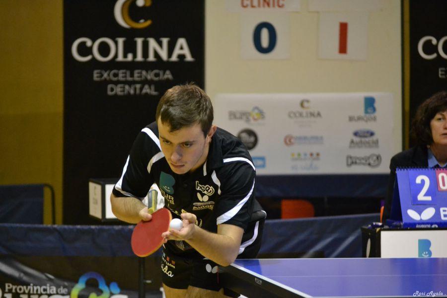 Carlos Vedriel, jugador de Colina Clinic Burgos (Foto: Rosi Ayala)