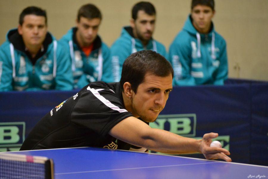 Diogo Pinho, jugador del Colina Clinic Burgos (Foto: Rosi Ayala)