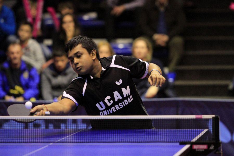 Soumyajit, jugador de UCAM Cartagena TM
