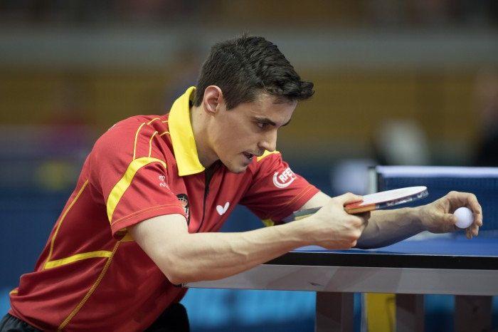 Carlos Franco, jugador de la selección española de Tenis de Mesa
