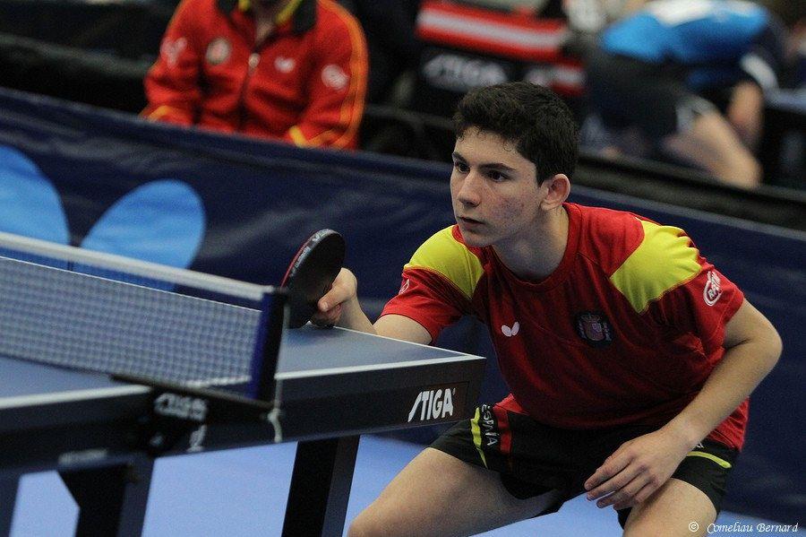 Francisco Miguel Ruiz, jugador autorizado de la selección española de Tenis de Mesa.