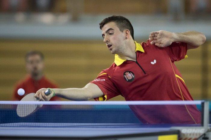 Miguel Ángel Vilchez, jugador de la selección española de tenis de mesa