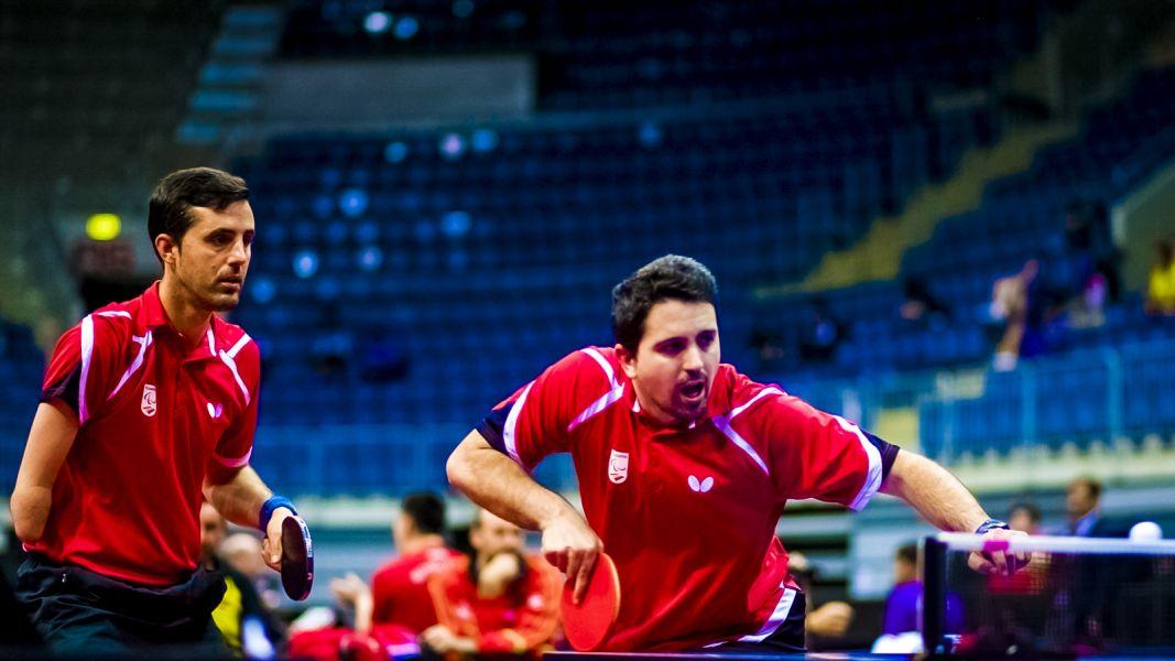Jose Manuel Ruiz y Jose Cardona en el Mundial de Personas con Discapacidad 2017 (Bratislava)