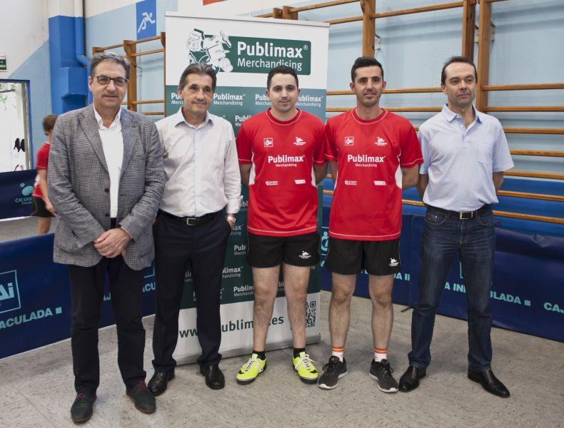 Mariano Soriano, Jesús Aragón, Jorge Cardona, José Manuel Ruiz y José Luis Aragón.