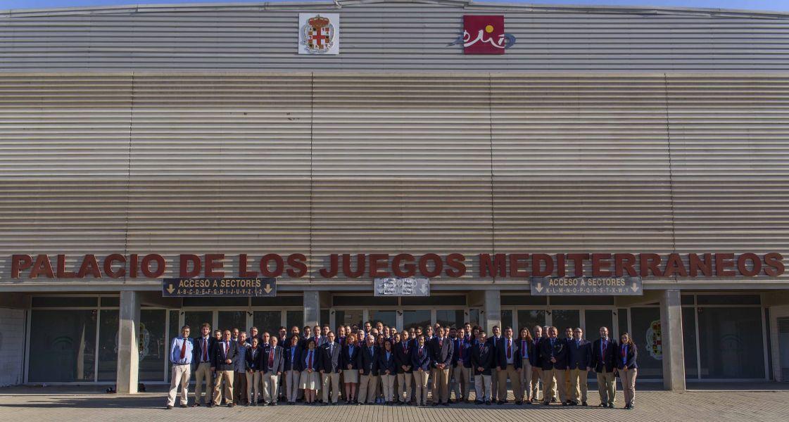 Foto Oficial Delegación arbitral en los Campeonatos de España de Tenis de Mesa 2017