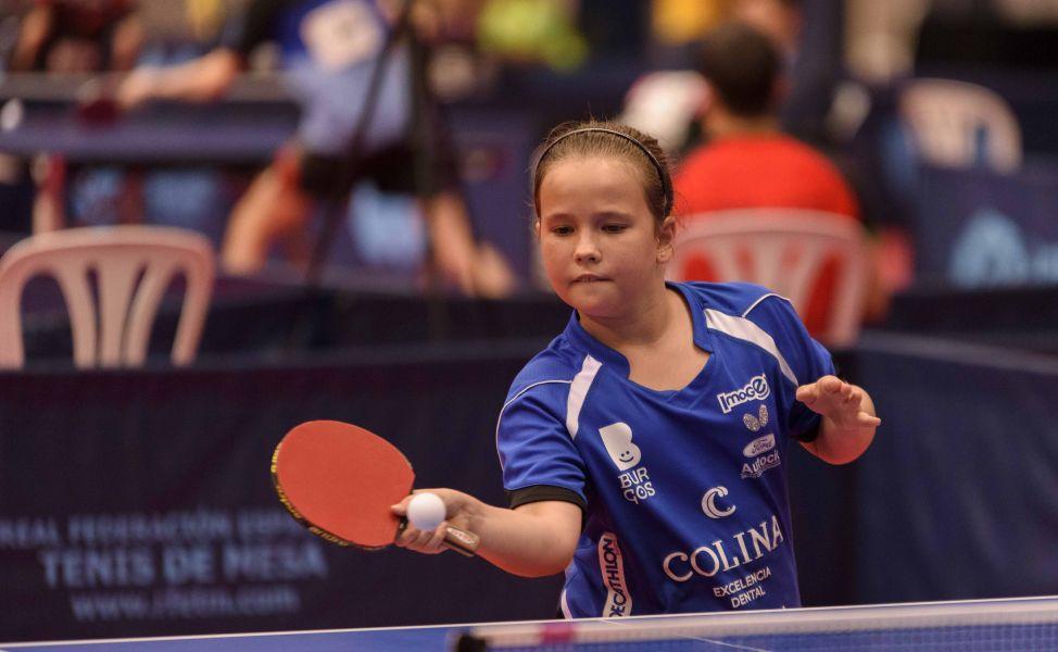 María Berzosa, campeona de España Pre-Benjamín 2017