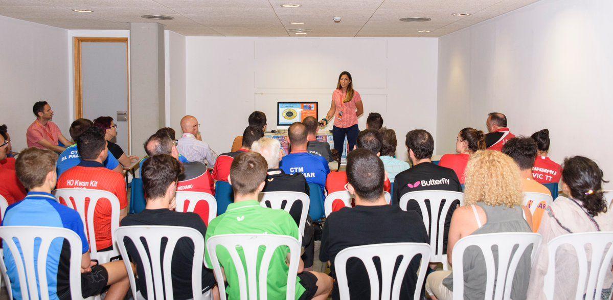 Ponencia de Ana María Martínez en los Campeonatos de España 2017 en Almería