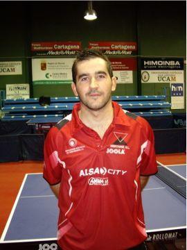 Jesús Cantero, jugador del UCAM Floymape Cartagena