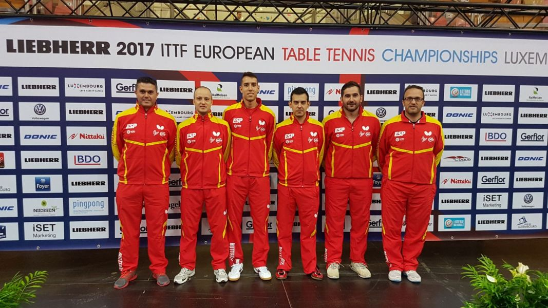 Delegación española en el Campeonato de Europa Absoluto de Tenis de Mesa 2017
