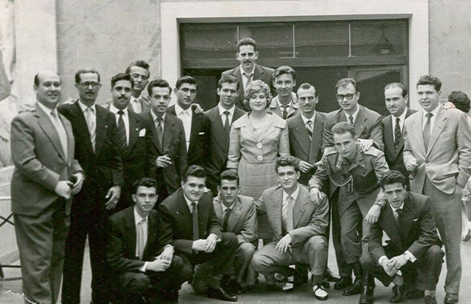 1959 Encuentro Hernán Imperio (Miguel Ángel, Urbano, Castilla).