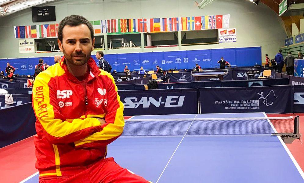 Alvaro Valera, campeón de Europa de Tenis de Mesa 2017