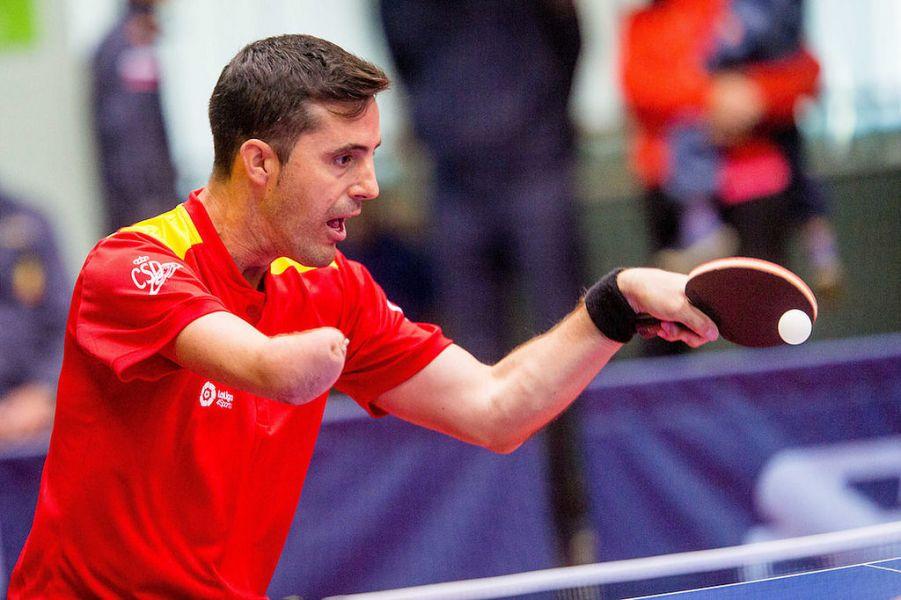 Jose Manuel Ruiz, jugador de la selección española de Tenis de Mesa