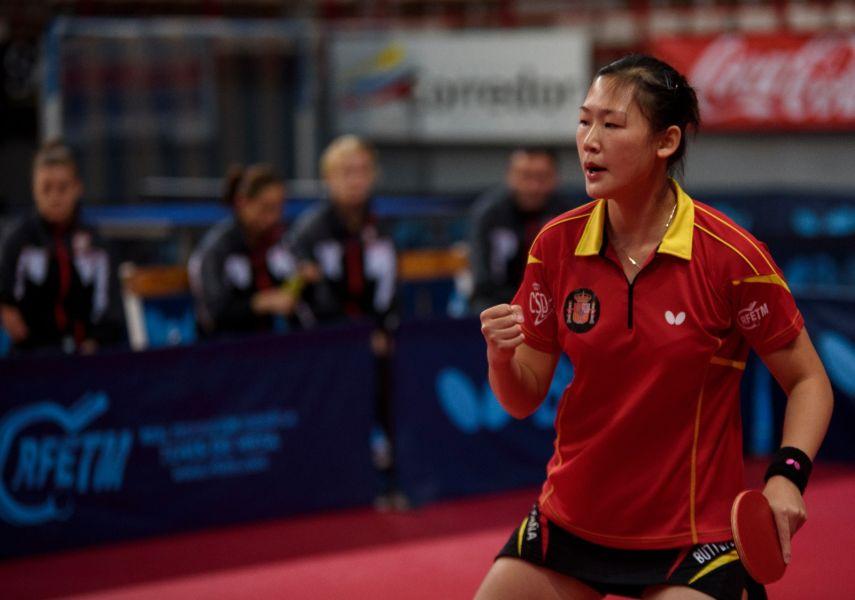 Maria Xiao, jugadora de la selección española de tenis de mesa (Foto: Alvaro Díaz)