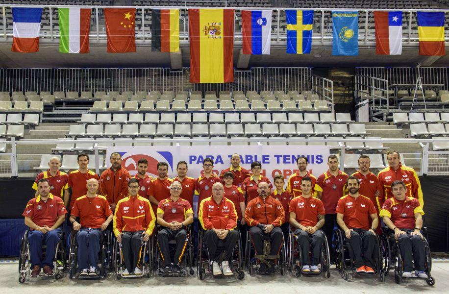 El equipo paralímpico español, preparado para el Spanish Open Factor 40