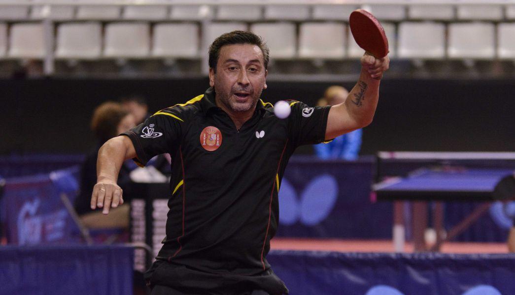 Juan Bautista Pérez, jugador de la selección española de tenis de mesa.