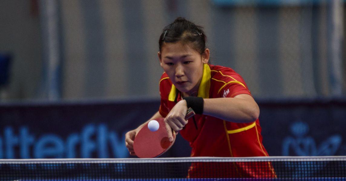 María Xiao jugadora de la selección española de tenis de mesa