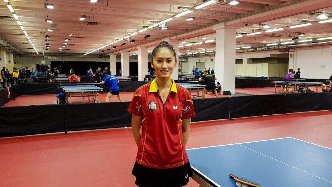 Sofía Xuan Zhang, presente en el Mundial Junior de Tenis de Mesa