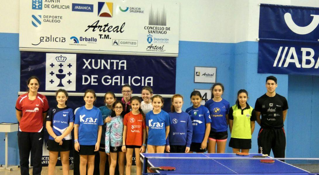 Foto de familia Concentración Minispin Galicia