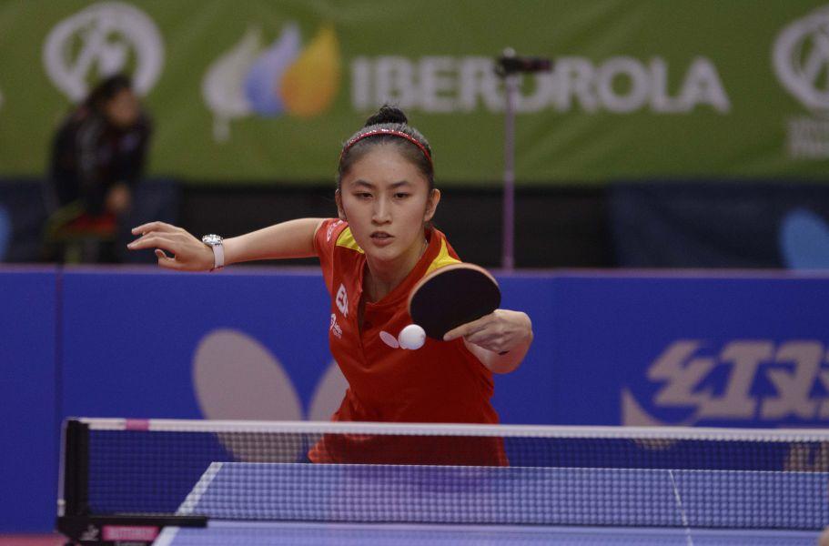 Sofía Xuan Zhang, jugadora internacional española en el Spanish Open 2017