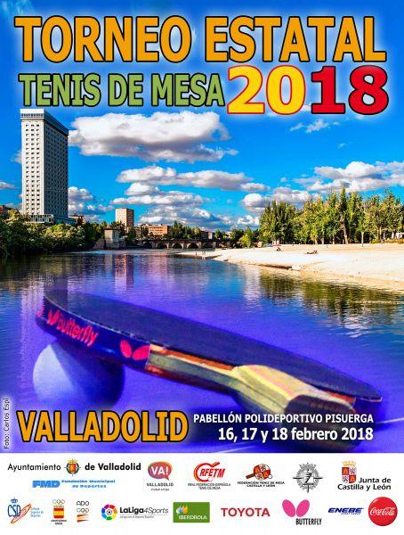 Cartel anunciador del Torneo Estatal 2018.
