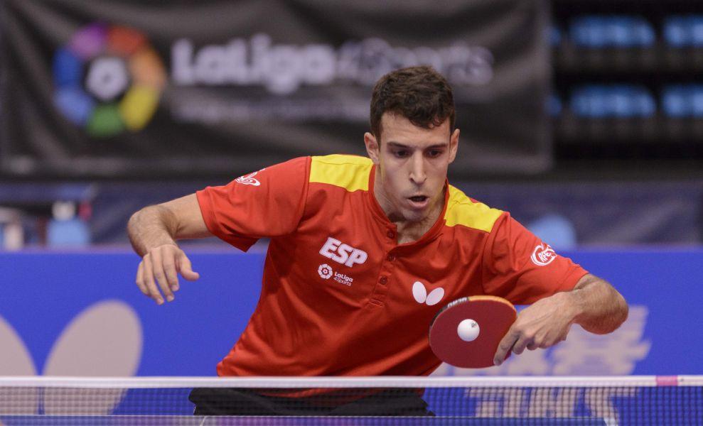 Álvaro Robles, 37 WR, jugador internacional de la selección española de Tenis de Mesa