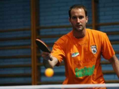 Zoltan Batorfi, jugador del Irún Leka Enea