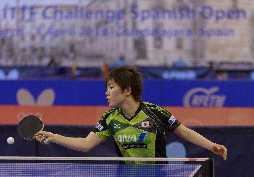 Shibata Saki, jugadora japonesa
