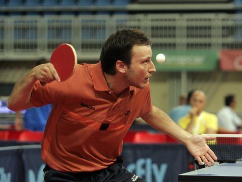 Carlos Machado, jugador de la selección española masculina Fotografía: COE